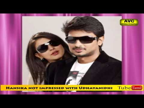 Hansika not impressed with Udhayanidhi