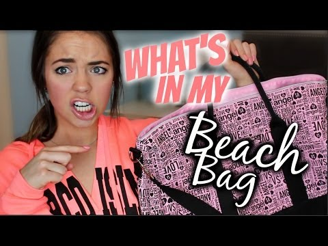 What's In My Beach/Pool Bag?!