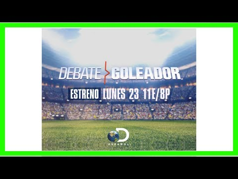 "Breaking News | Discovery en Español's Original Game Show ""DEBATE GOLEADOR"" Puts Soccer Gurus To ..."