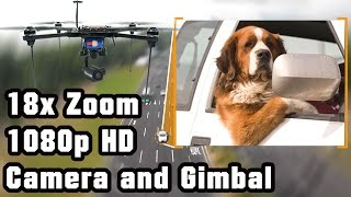 Amazing 18x Zoom 1080P HD camera on-board footage (security/surveillance)