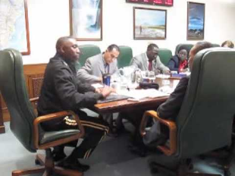 AFRICOM Progress - Senegal Press w/ Gen. Kip Ward