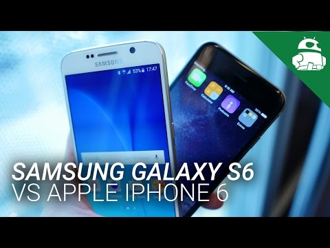 Samsung Galaxy S6 vs Apple iPhone 6 - Quick Look!