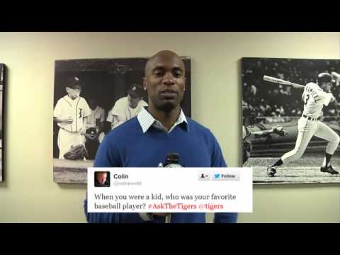 Tigers' Austin Jackson and Andy Dirks answer fan Twitter questions