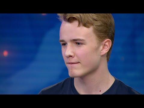Jesper Malmborg hoppas på att bli nya Håkan Hellström - Idol 2017 - Idol Sverige (TV4)