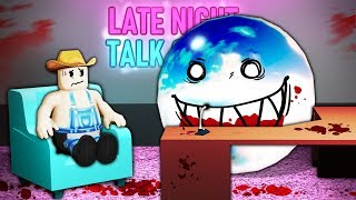 I went on Roblox's disturbing talk show...