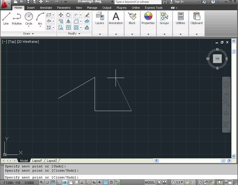 Learn autocad 2012 video tutorial basic training how for Basic cad online