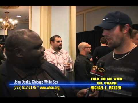 John Danks, Chicago White Sox Fest & Coach Mayden