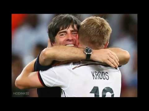 German Coach Joachim Löw Wearing An IWC Winning The World Cup