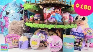 Blind Bag Treehouse #180 Unboxing Disney Pusheen Ryans Toy Review Unboxing | PSToyReviews