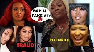 RAH gets put on BLAST for betraying Remy Ma for Nicki Minaj NO FRAUDS Music Video 💅💭 #NoFrauds