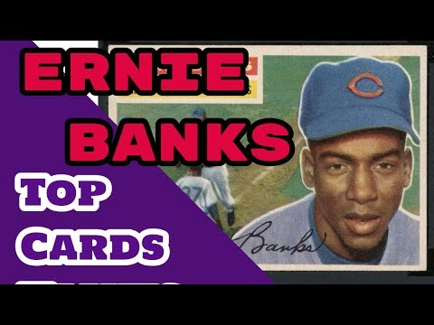 Ernie Banks Baseball Cards - Slideshow of some of his best Cards