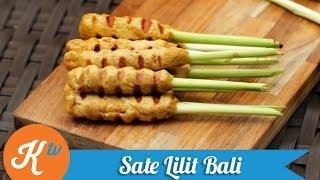 Resep Sate Lilit Bali (Balinese Satay Lilit Recipe Video)   YUDA BUSTARA