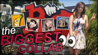 THE BIGGEST LOL COLLAB FT. MAGIKARPUSEDFLY , ANGELSKIMI , BANANAPEELZ, GLITCHXCITY & MORE | Pokimane