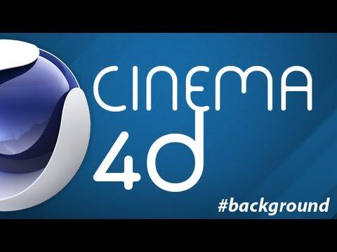 Tutorial Cinema 4D: Como fazer um background para seu canal thumbnail