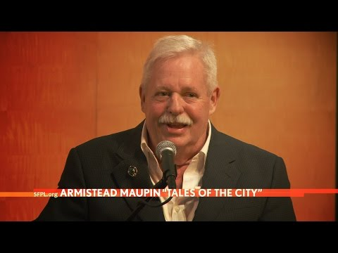 Armistead Maupin at the San Francisco Public Library