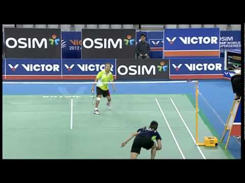 Round Of 16 - WS - S. Nehwal  vs Cheng S.C  - 2012 Victor Korea Open