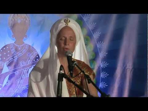 Snatam Kaur sings By Thy Grace at Sat Nam Fest 2011