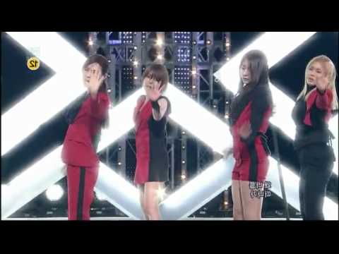 After School - Because of You Dance HD (Mirrored Live Performances)