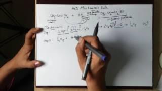 Class11 Antimarkonikov's rule mechanism in easy steps