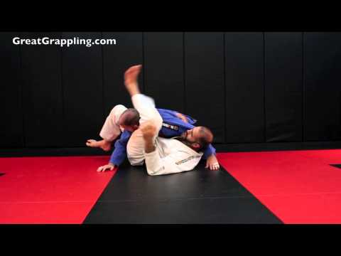 Side Control Submission Triangle from Bottom Side Control Image 1