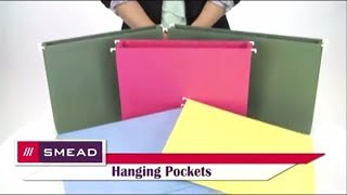 Smead 1 3/4 Inch Hanging File Pockets with Sides