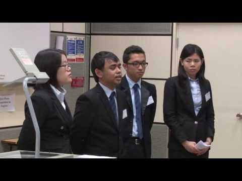 HSBC Asia Pacific Business Case Competition 2013 - Round1 E3 - ADMU