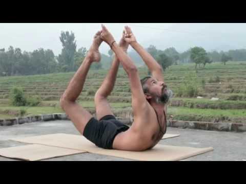 Advanced Traditional Hatha Yoga With Babu Raj. Flexibility & Strength From The Himalayas, India