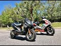 SCOOTERTUNING Visits HP LOGIC! 100cc vs 70cc 2 fast