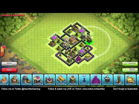 BEST Town Hall Level 8 (TH8) Defense Strategy - Clan Wars/Hybrid/Trophy Base (Clash of Clans) Part 1
