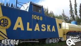 Alaska Train Bed & Breakfast - Fairbanks, Alaska on Exploring The Obscure