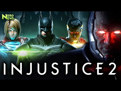 Injustice 2 Story Trailer! New CHARACTERS: Brainiac, Darkseid, Supergirl!