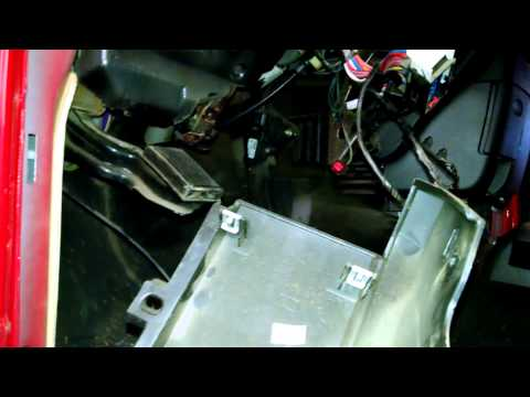 Heater core replacement overview Dodge Ram 1500 2004 2005 Component overview