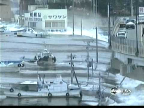 ABC WORLD NEWS on the earthquake in japan part1