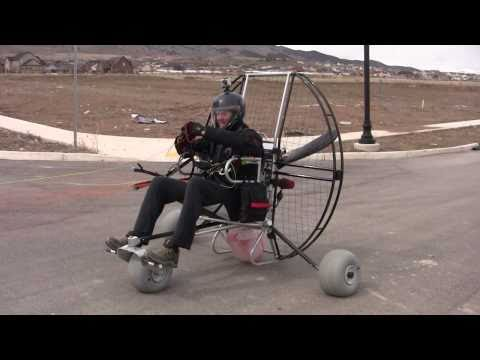 Paramotoring The Flat Top Air Trike!!! The NEW Powered Paragliding 25 lb Paramotor Gear!