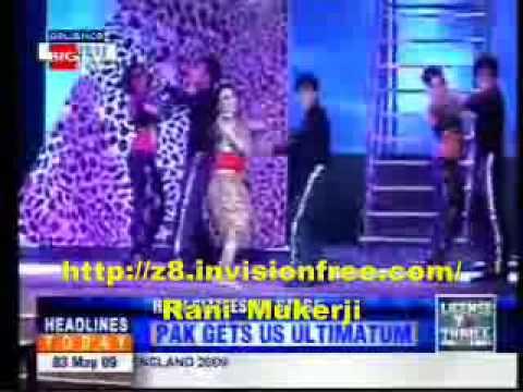 HT Rani Mukerji back in action- 1 (wedding performance)