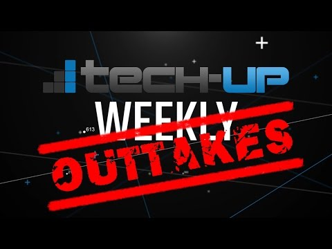 FAIL-Alarm: Die lustigsten & peinlichsten Outtakes aus Tech-up Weekly 2016