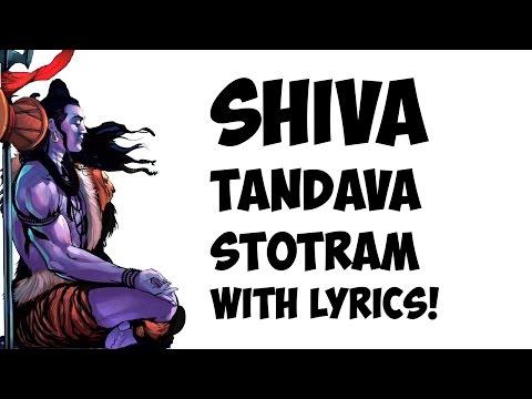 Shiva Tandava Stotram - Lyrics