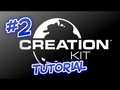 Skyrim: Creation Kit Tutorials [Part 2] - Creating a Custom Weapon (Or Armour) - 1080p HD
