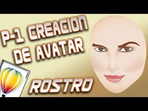 Tutorial de CorelDRAW X6 - Creación de Avatar parte 1 (ROSTRO)