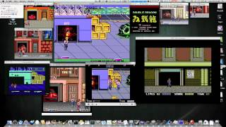 Double Dragon Tribute on PowerMac G5