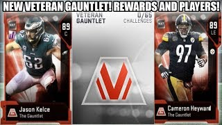 VETERAN GAUNTLET REWARDS AND CHAMPION PLAYERS! 89 OVERALLS! | MADDEN 19 ULTIMATE TEAM