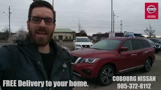 2018 Nissan Pathfinder Platinum Family SUV Tour