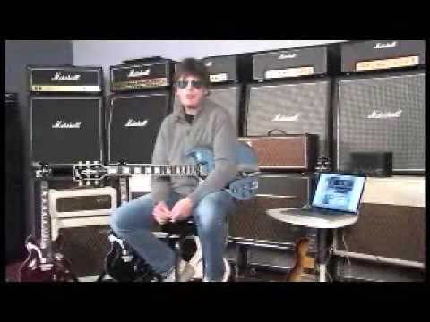 Elliot Easton rocks out on the new VOX JamVOX guitar practive, jamming tool!