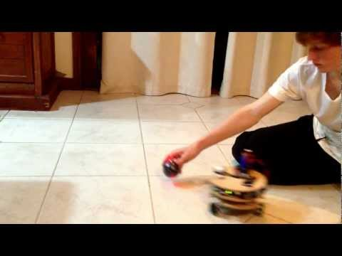 Robot following ball