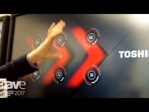 ISE 2017: Toshiba Talks About Touch kits Touch Overlay