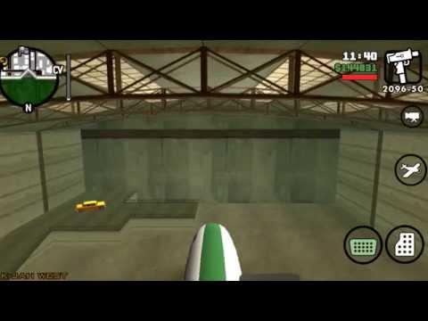 Truco GTA: San Andreas el avion mas grande.