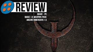 Quake, Quake 1.5, & Arcane Dimensions 1.5 for PC Video Review