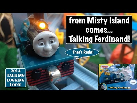 Unboxing New Thomas & Friends 2014 Take-n-Play Talking Ferdinand!