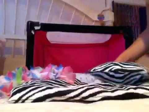 How to make an american girl doll canopy bed