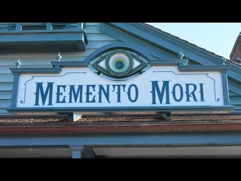 Memento Mori, Haunted Mansion Shop at Magic Kingdom - Detailed Tour of Merchandise & Decor